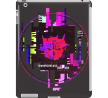 Double Badge Glitch (v.1) iPad Case/Skin