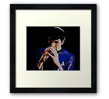 Amok Spock Framed Print