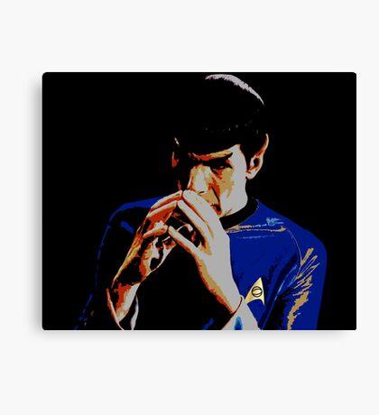 Amok Spock Canvas Print
