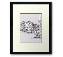 Italy Sketch 1  Framed Print