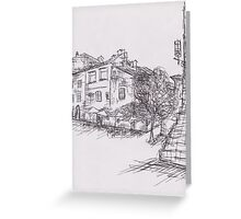 Italy Sketch 1  Greeting Card