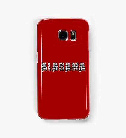 Houndstooth Alabama Samsung Galaxy Case/Skin