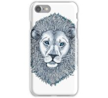 Blue Eyed Lion iPhone Case/Skin