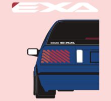 Nissan Exa Sportback - JAP Edition Blue Kids Clothes