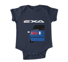 Nissan Exa Sportback - JAP Edition Blue One Piece - Short Sleeve