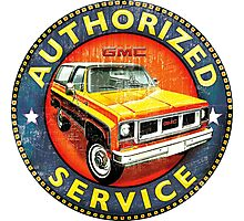 GMC Jimmy authorized service USA Photographic Print