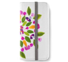 Gaia Gives Kaleidoscope Mandala  iPhone Wallet/Case/Skin