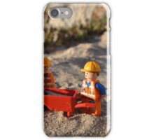 Early Morning Beach Clean iPhone Case/Skin