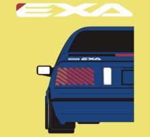 Nissan Exa Coupe - JAP Edition Blue Kids Clothes