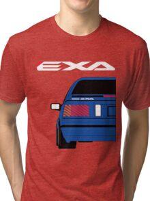Nissan Exa Coupe - JAP Edition Blue Tri-blend T-Shirt