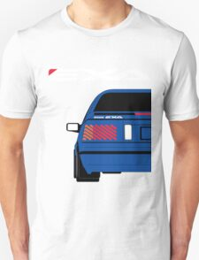 Nissan Exa Coupe - JAP Edition Blue Unisex T-Shirt