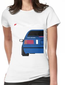 Nissan Exa Coupe - JAP Edition Blue Womens Fitted T-Shirt