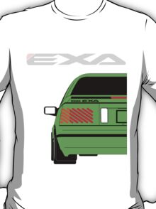 Nissan Exa Coupe - Green T-Shirt