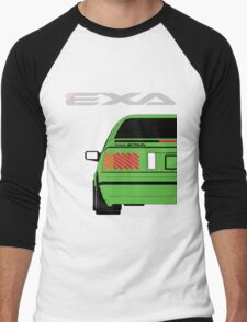 Nissan Exa Coupe - Green Men's Baseball ¾ T-Shirt