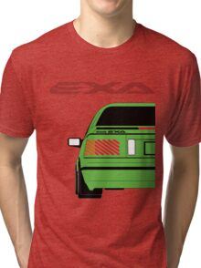 Nissan Exa Coupe - Green Tri-blend T-Shirt
