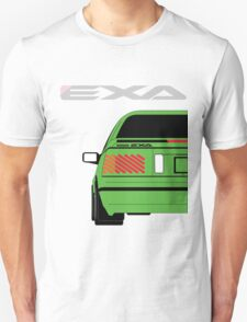 Nissan Exa Coupe - Green Unisex T-Shirt