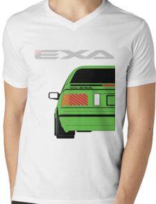Nissan Exa Coupe - Green Mens V-Neck T-Shirt