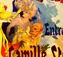 Vintage poster - Casino de Paris Sticker