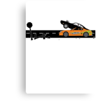 The Fast and the Furious Classic Moment Canvas Print