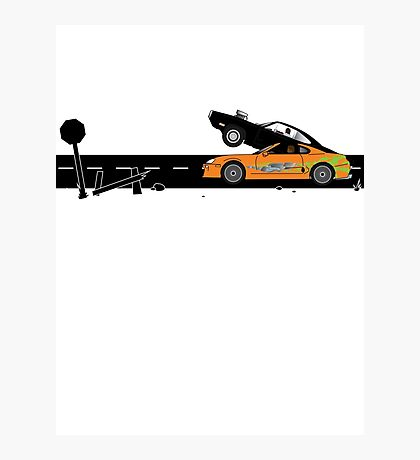 The Fast and the Furious Classic Moment Photographic Print