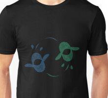 yin and yang Dunkleoteus Unisex T-Shirt
