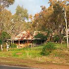 Early settlers cottage in Maldon Vic Australia by Margaret Morgan (Watkins)
