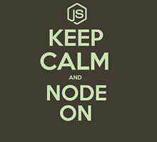 NodeJS Keep Calm and Node On T-Shirt