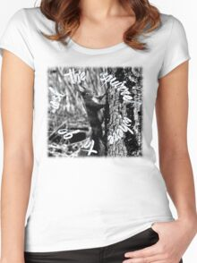 squirrel! Women's Fitted Scoop T-Shirt