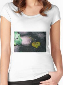 Decaying Love Women's Fitted Scoop T-Shirt