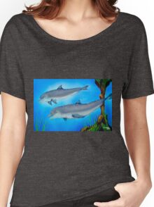 Dolphins Women's Relaxed Fit T-Shirt