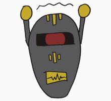 Robot 101010011101 One Piece - Long Sleeve
