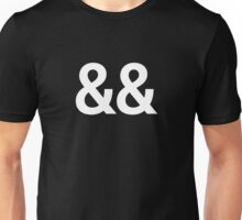 ampersand && - logical AND - coding Unisex T-Shirt