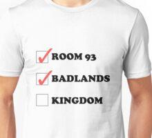Halsey Checklist Unisex T-Shirt