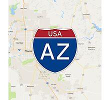 Arizona Interstate Photographic Print