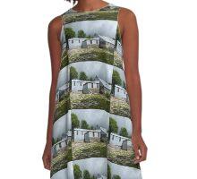 Abandoned Farm Buildings A-Line Dress
