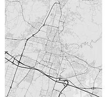 Brescia, Italy Map. (Black on white) Photographic Print