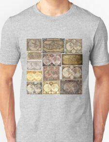 Old World Maps Unisex T-Shirt
