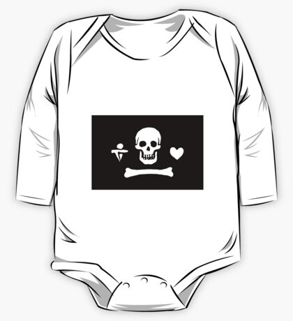 Pirate Flag One Piece - Long Sleeve