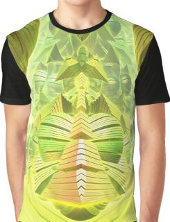 Neon Green Ocean Liner  Graphic T-Shirt