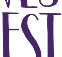 West Chester University Sticker