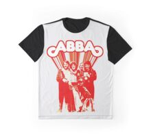 ABBA Eurovision 1974 bichrome amazing design! Graphic T-Shirt