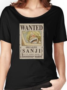 <ONE PIECE> Sanji Wanted Women's Relaxed Fit T-Shirt