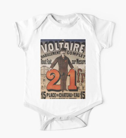 Vintage poster - A Voltaire One Piece - Short Sleeve