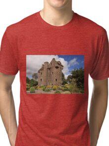 Claypotts Castle Tri-blend T-Shirt