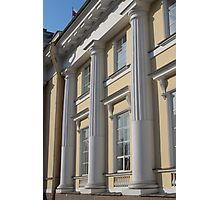Palace facade with columns Photographic Print