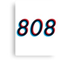 Modern Electronic - 808 Canvas Print