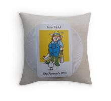 Family Circle (my party trick) Throw Pillow