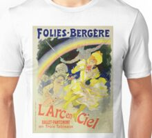 Vintage poster - The Rainbow Unisex T-Shirt