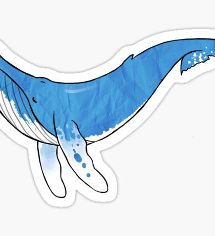 A Whale of a Tale Sticker