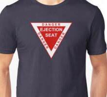 Military aviation ejection seat Unisex T-Shirt